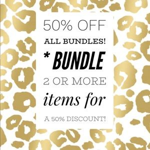 50% OFF ALL BUNDLES